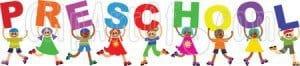 Preschool sign