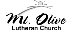 "Logo: The sun rising with the words ""Mt. Olive Lutheran Church"""
