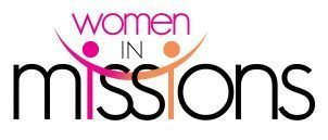 """Poster with the words """"Women in Missions"""""""