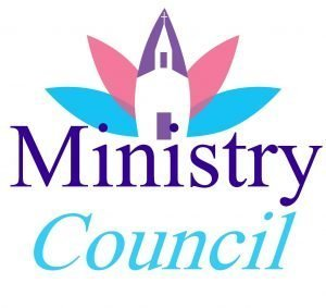 """Church design with the words, Ministry Council."""""""