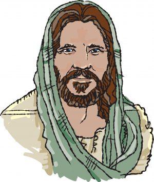 Drawing of Jesus